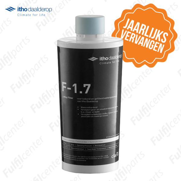 Kokend waterkraan filter vervangen